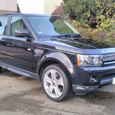 Range Rover after cleaning